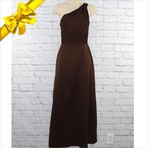 One Shoulder Sleeveless Dress ~b0eu6p1v0